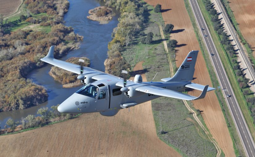 Indra P2006T MRI aircraft to patrol Mediterranean for Frontex