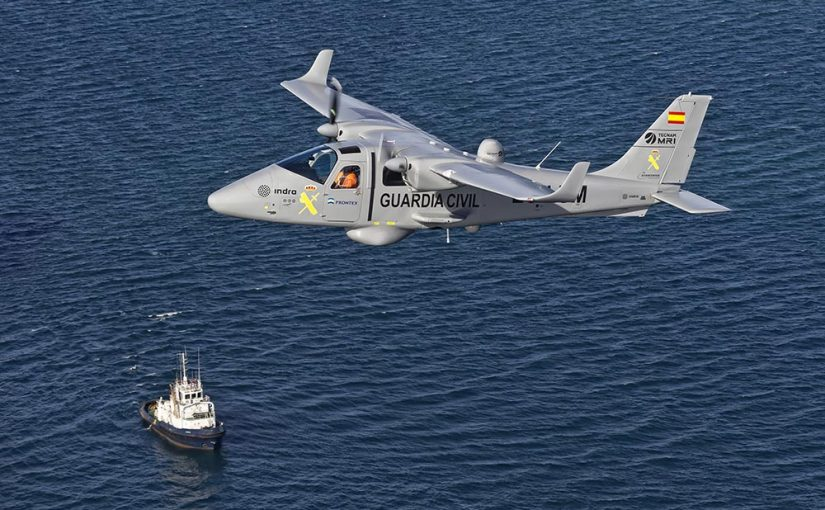 Tecnam MRI appointed to participate in a 10 million euros contract launched by Frontex:
