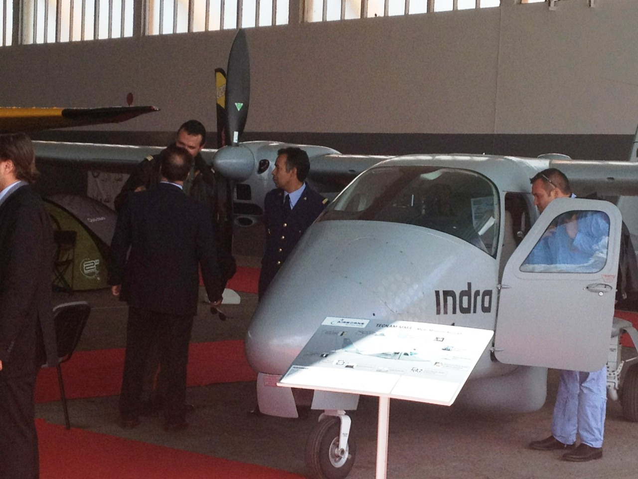 Tecnam Mri marrakech air show