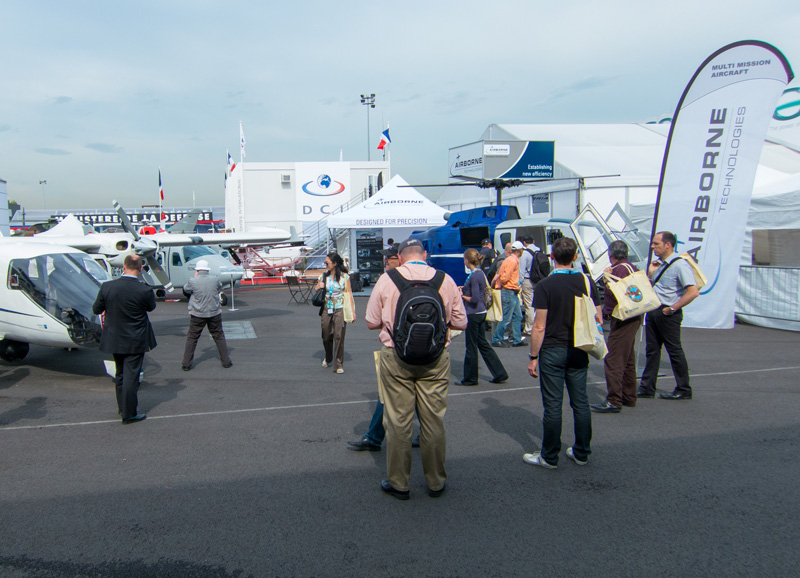 Airborne Technologies´Static Display at Le Bourget Paris